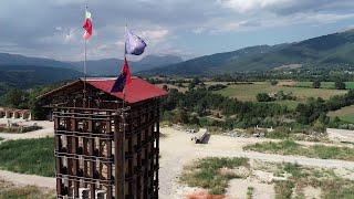 Terremoto centro Italia tre anni dopo, in volo su Amatrice: il centro storico ferito