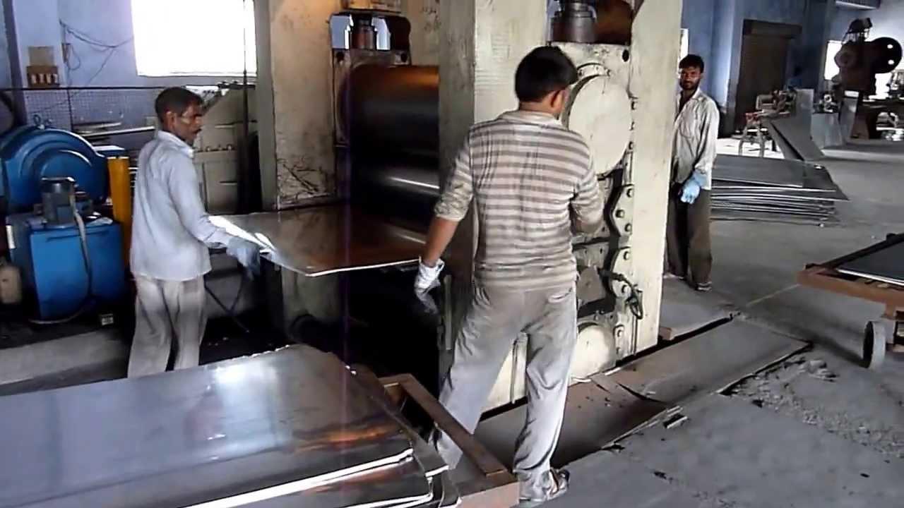 4hi Cold Rolling Mill Aluminum Youtube