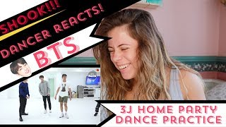 [BANGTAN BOMB] 613 BTS HOME PARTY Practice - Unit stage '삼줴이(3J)' - Dancer Reacts!