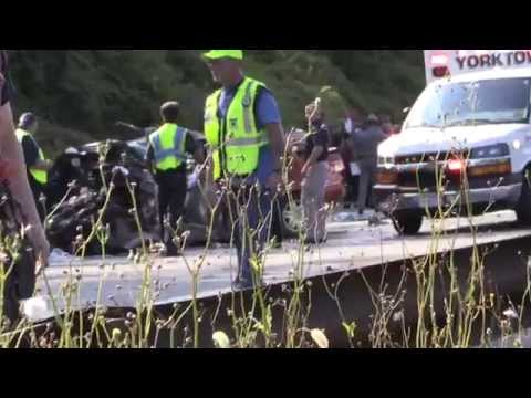 Fatal automobile accident on the Taconic State Parkway S/B ...