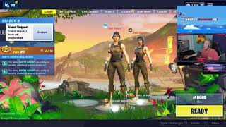 Tfue Plays W Hamlinz Squad Fills Fortnite Tfue est presque banni AGAIN - FULL VIDEO