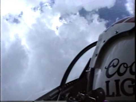 Punta Gorda Florida 1980 Coors Light Silver Bullet Jet Airshow Featuring Bob Bishop