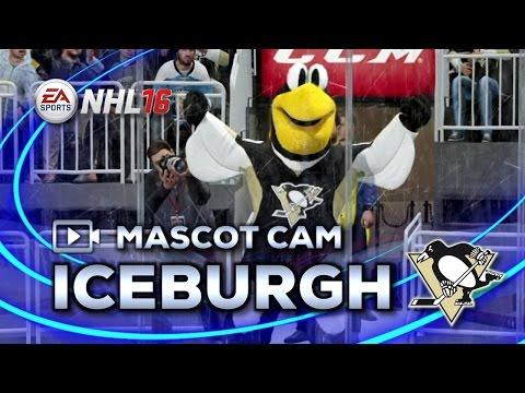 NHL 16 Mascot Cam   Iceburgh (Pittsburgh Penguins)