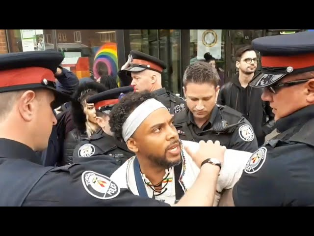 LGBT mob assaults Christians: Bro David Lynn arrested, city news and biased police react in Toronto