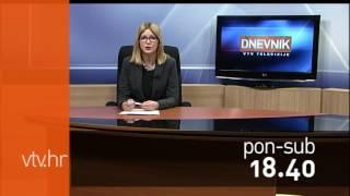 VTV Dnevnik najava 25. ožujka 2017.