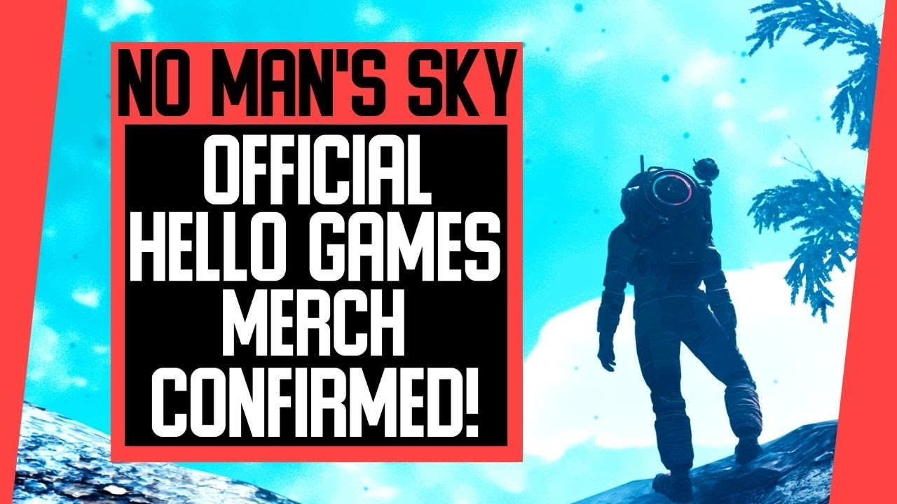 No Man's Sky News|Official Hello Games Merch CONFIRMED!|What Could It Include?|NMS News