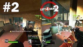 Left 4 Dead 2 - (No Mercy Experto) mexirene y Farid Parte 2 - L4D2 Cooperativo Campaña
