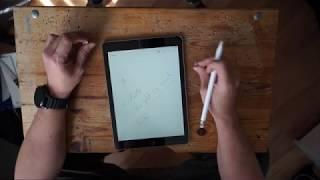 Apple iPad 2018 + Pencil Unboxing
