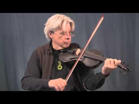 Darol Anger playing his Qarbonia Baritone Violin