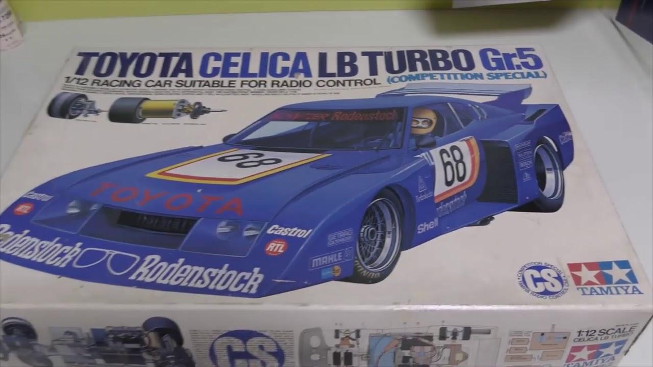 1978年に買った タミヤトヨタセリカ LB ターボ Gr.5 競技用スペシャル を久しぶりに開けてみた