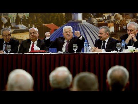 Abbas Bekräftigt Abbruch Der Beziehungen Zu Israel Und Den USA