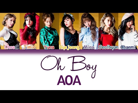 AOA (에이오에이) - Oh Boy (Korean Version) | Han/Rom/Eng | Color Coded Lyrics |