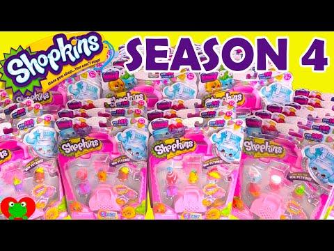 Shopkins SEASON 4 PETKINS Giant Opening by Toy Genie Surprises