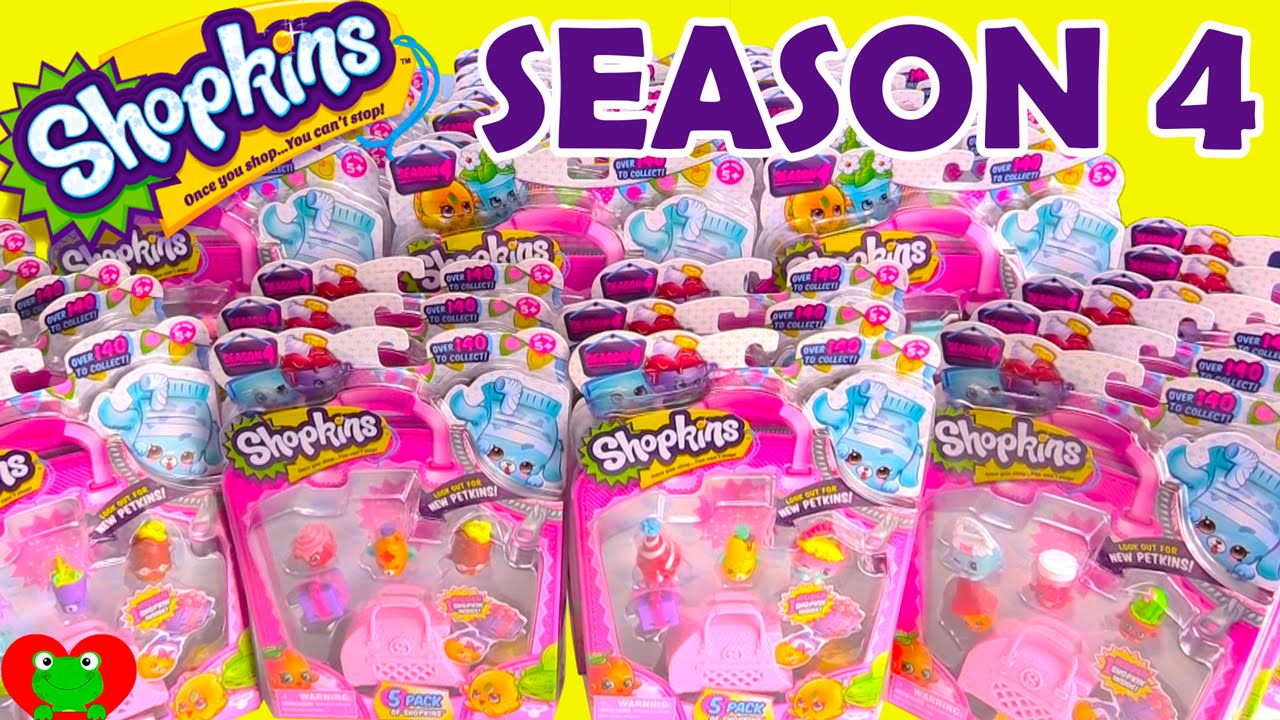 Shopkins SEASON 4 PETKINS Giant Opening By Toy Genie Surprises