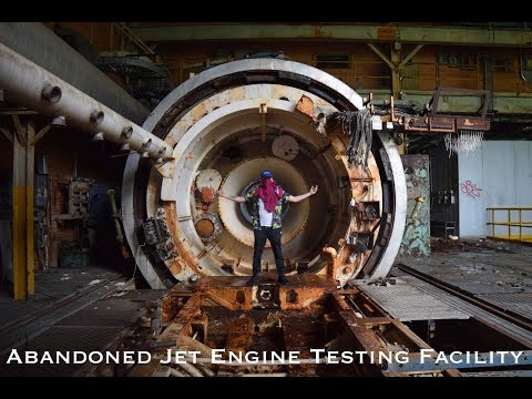 Abandoned Jet Engine Testing Facility - Used by the US Navy During the Cold War