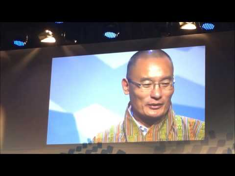 BHUTAN's PM TSHERING TOBGAY--SUSTAINABILITY
