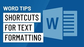 Word Quick Tip: Baṡic Shortcuts for Text Formatting