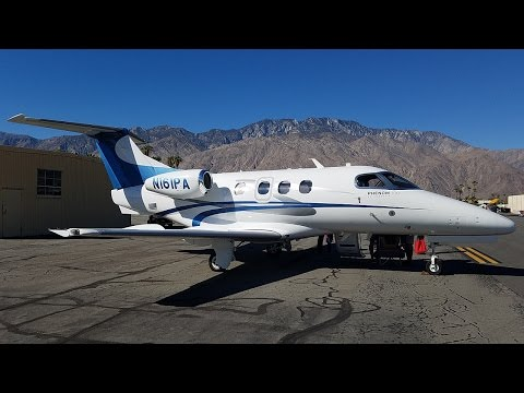 VFR Flight on a Beautiful Private Phenom 100 (PSP-SNA)