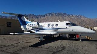 VFR Flight on a Beautiful Private Phenom 100 (PSP-SNA)