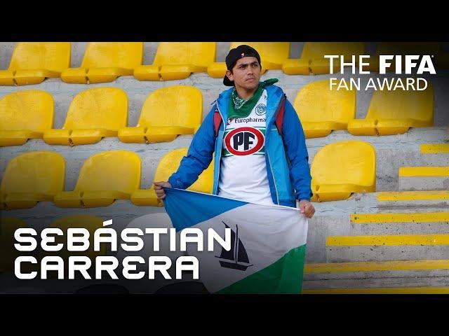 Sebastián Carrera - FIFA Fan Award 2018 - NOMINEE