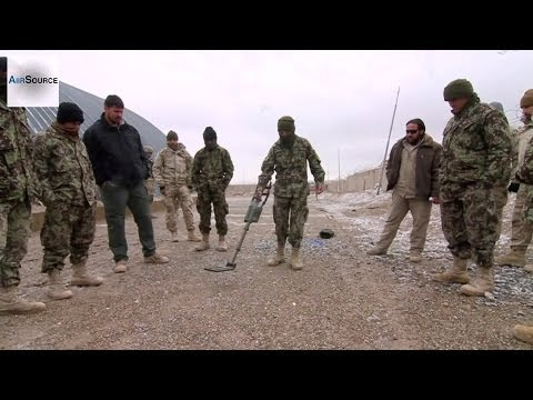 Afghan National Army - Hand-Held Mine Detector Training
