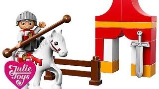 Видео обзоры LEGO Duplo Рыцарский турнир