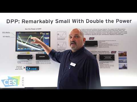 Alpine DPP Power Pack Amplifier (CES 2019 Innovation Award Winner)