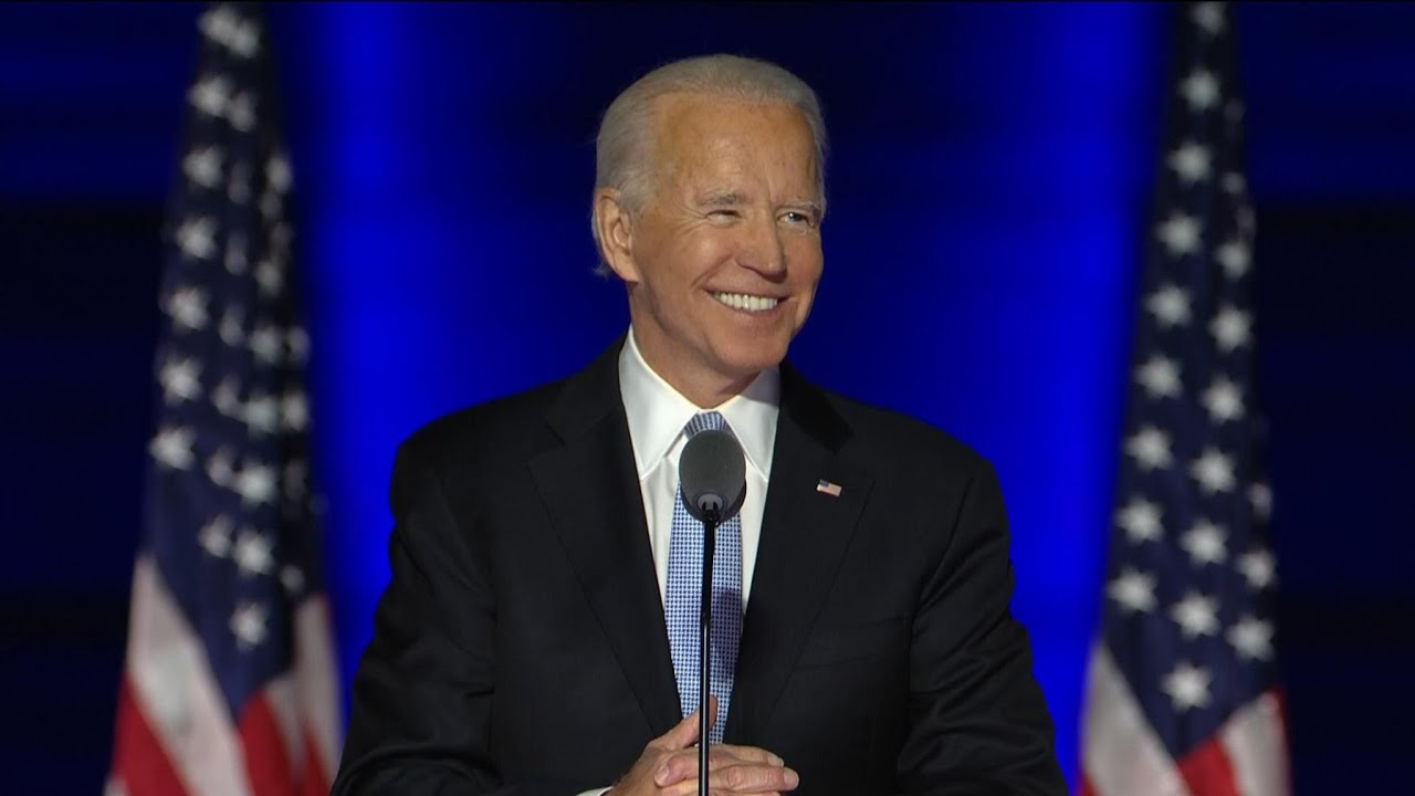 President-elect Joe Biden's victory speech in full