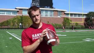 Crimson Football Skills: Throwing a Pass