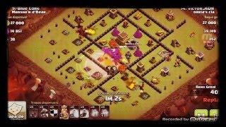 Clash Of Clans- ATAQUE TOP QUE FIZ NA GUERRA