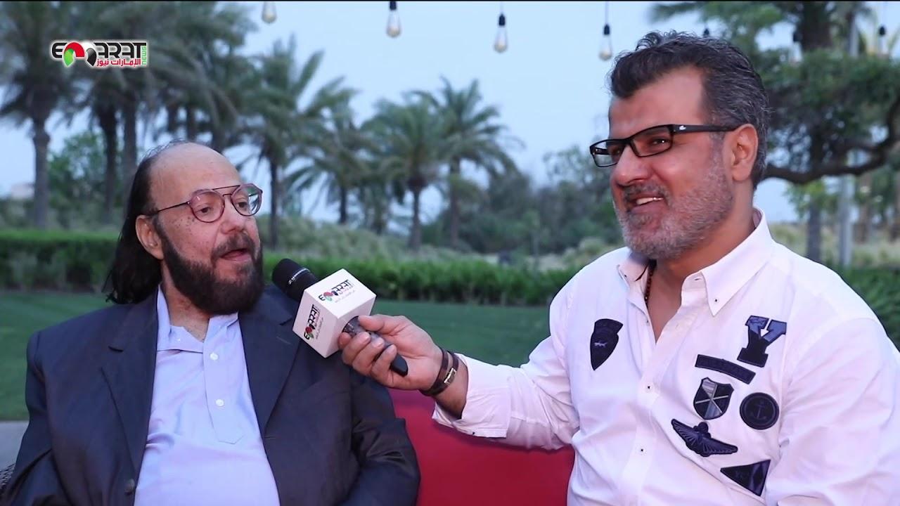 طلعت زكريا يكشف عن فيلمه بعد الخميس وما رأيه بمقالب رامز جلال  !!