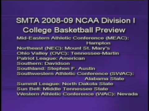 So Much to Talk About: 2008-09 NCAA Basketball Preview-Pt. 9 of 9