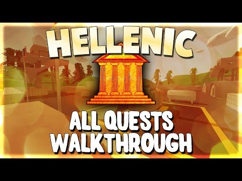 Every HELLENIC Quest Pt.1 ~ New Greece Overhaul Walkthrough! ;)