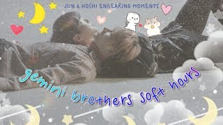 🌕 JUN & HOSHI ⭐️ gemini brothers soft hours