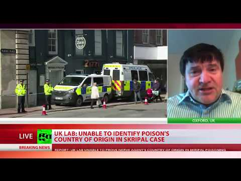 Unidentified: UK lab cannot confirm Novichok used on Skripals was made in Russia