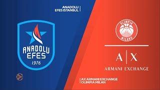 #EuroLeague 30. Hafta: Anadolu Efes - AX Armani Exchange Olimpia Milan