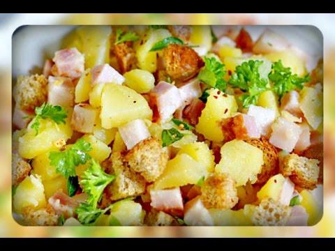 салат слоеный с лососем, рецепт приготовления