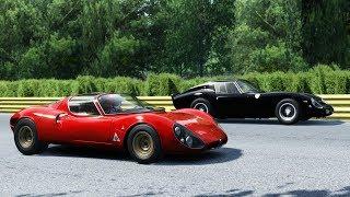 Alfa Romeo 33 Stradale vs Ferrari 250 GTO • Monza
