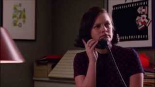 Mad Men Finale - Peggy and Stan Scene