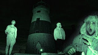 OVERNIGHT ON EXECUTION ROCKS LIGHTHOUSE! (Demons exist...)