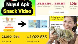 Cara Nuyul Apk Snack Langsung Jadi Koin Terbaru - Aplikasi Penghasil Uang