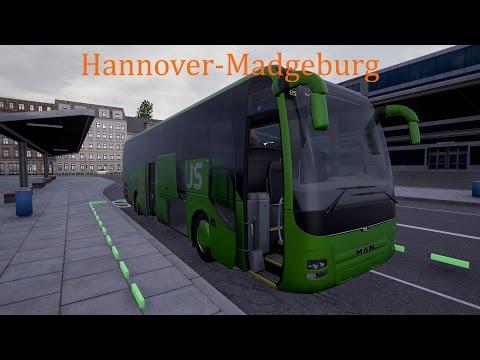 Fernbus Simulator - Hannover - Magdeburg