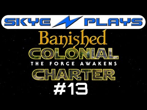 Banished Colonial Charter 1.6 #13 ►Laketown is Born! .. Almost◀ Let's Play/Gameplay [1080p 60FPS]