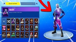 ANOTHER MANIERE TO HAVE THE GALAXY SKIN on Fortnite: Battle Royale