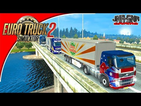 Euro Truck Simulator 2 Multiplayer France Delivery Event Trucking Good Saturday