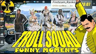 TROLL SQUAD VS TEAM PH   FUNNY MOMENTS   (Rules of Survival) [TAGALOG]