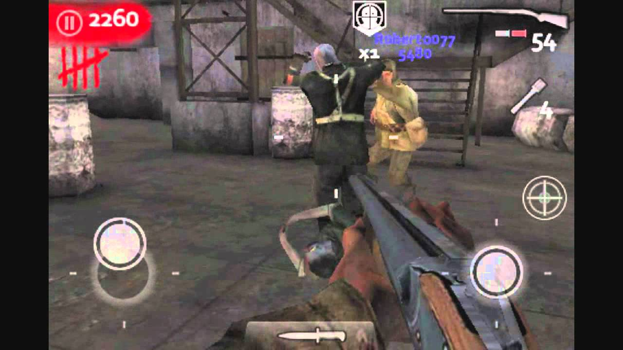 Iphone Default Wallpaper Call Of Duty Waw Zombies Iphone Ipod Touch Gameplay