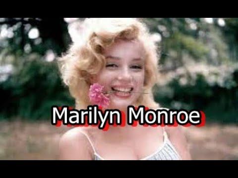 Marilyn Monroe - Biography in English