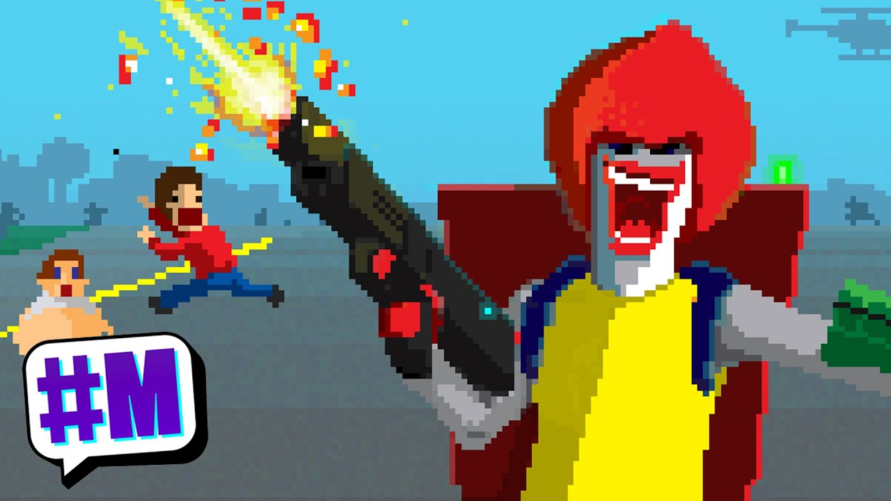Ronald McDonald Rampage: Serious Beef - YouTube