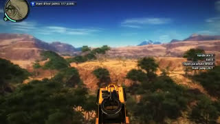 Just Cause 2 : Cars and Bike Stunts Compilation